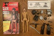 Marx Johnny West Canadian Outlaw Sam Cobra With Accessories And Bilingual Box Rare