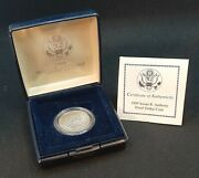 1999 Susan B Anthony One Dollar Proof Coin - Un-circulated Usa U.s Mint Sca