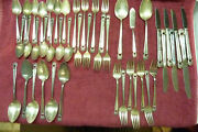 1847 Rogers Bros Is Silver Eternally Yours Flatware Service 45 Pcs.