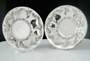 Pair Immaculate Sterling Silver Dishes Cooper Brothers And Sons Ltd 1979