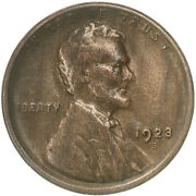 1923 S Lincoln Wheat Cent Very Fine Penny Vf