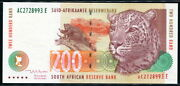 South Africa 1999 200 Rand P127b Unc
