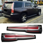 Lbrst Escalade Style Led Clear Taillights 2015-2020 Chevrolet Tahoe Or Suburban