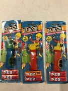 Lot Of Three Pez Dispensers, Trucks And Whistles New
