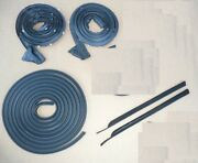 1970 Cuda Challenger Door Trunk And 1/4 Weatherstrip Seal E-body Usa Rubber Kit