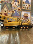 Vintage Grovecrane Truck - West Germany Diecast Construction Toy Missing Wheel
