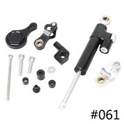 Steering Damper With Mount Bracket Cnc Aluminum For Yamaha Yzf R1/r6 2006-2015