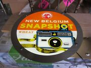 New Belgium Fat Tire Snapshot Beer Led Light Up Sign Camera Game Room Man Cave