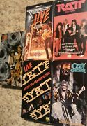 Rock/metal Vhs Lot - 5 Awesome Concert And Music Video Tapes From Legendary Bands