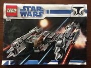 Lego Star Wars 7673 Magna Guard Starfighter Instruction Manual Only