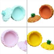 Cute Pineapple Cigarette Ashtray With Lid Living Room Smoking Ash Tray Holder