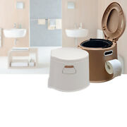 10l Portable Toilet Seat Camping Travel Outdoorandindoor Potty Commode Home