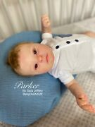Reborn Baby Boy Realborn Patience - With Coa Down Syndrome Baby Doll Uk Artist