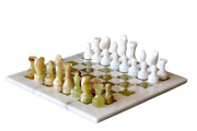 Handmade Vintage Marble Chess Board 12 Marble Chess Set Adult Chess Board Game