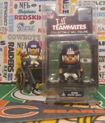 Nfl Liland039 Teammates Series 4 Chicago Bears Wide Receiver Wr 3-inch Figurine