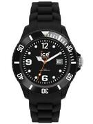 Ice Watch Sili Black Small Si.bk.s.s.09 Analogue Silicone Black