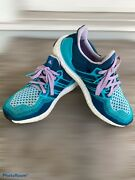 Adidas Ultra Boost 1.0 Womenandrsquos 8.5 Running Af5140 Green Mineral Glow