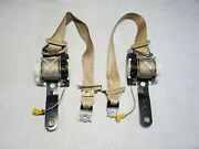 2007 - 2014 Chevy Suburban Driver And Passenger Front Seat Belts Oem Tan