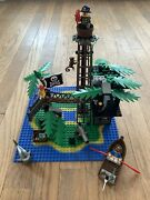 Lego 6270 Pirates System 1989 Forbidden Island With Minifigures Complete 176 Pcs