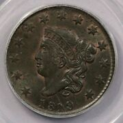 1819-p 1819 Liberty Head Cent Pcgs Ms62 Bn Gen 2.1 Ogh Old Green Holder Cac
