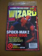 Wizard Guide To Comics Magazine 153 Cover 1 Spiderman July 2004 New And Bagged