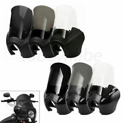 15andrdquo Front Fairing Windshield 6 Options Fit For Harley Dyna Fxd Efi Fxdi 2006-17