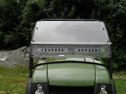 Kawasaki Mule Sx Premium Lexan Windshield With Quick Connect Clamps And Dual Vents