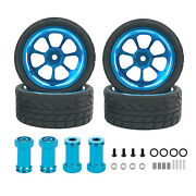 Metal Hubs Wheels Rims Tire Skin Hexagon Seat For Wltoys 144001 Car Spare Parts