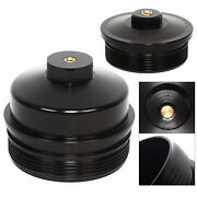Billet Aluminum Fuel And Oil Filter Caps For 03-07 Ford F-series 6.0l Powerstroke