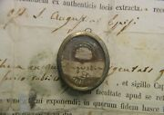 Relikt Relicario Relic St Augustine Bishop Doctor Of The Church Doc 1866✔️