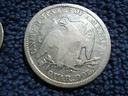 1876 Cc Seated Liberty Silver Quarter +1976 S Proof 69 Silver Eisenhower Dollar