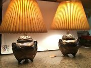 Ethan Allen Occasional Lamps Collectors Classic Numbered Bronze