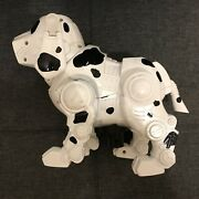 Vintage 90and039s Tekno Manley Quest Robotic White Puppy Dog Interactive Robot
