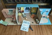 Rare 1963 Tammy Dream Cardboard Doll House Ideal Toy 9308 Usa Almost Complete ✨