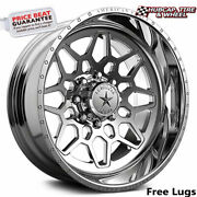 American Force Ckh03 Orion Concave Polished 26x16 Wheel 8 Lug One Wheel