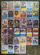 Digimon Card Game Promo Card Complete Set 1-34 Rare Promotional Card Collection