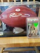 Patrick Mahomes Autographed Official Nfl Football The Duke
