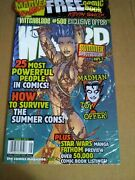 Sealed Wizard Comic Magazine 84 Witchblade Cover 1 Aug 1998