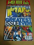 Wizard The Comics Magazine 105 June 2000 Cover 1 The Greatest Issue Ever Sealed