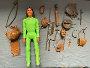 Vintage Marx Johnny West Best Of The West Fighting Geronimo Action Figure