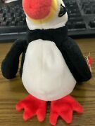 Very Rare Discontinued Puffer Ty Beanie Baby With Tag Errorsandnbsp