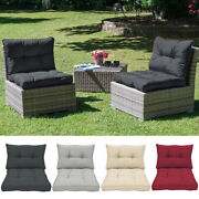 Back And Seat Cushion For Indoor/outdoor Cushions For Deep Seating Patio Chair