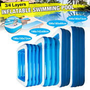 Summer Large Thicken Family Inflatable Swimming Pool Spas Tubs Bathtub For Kids