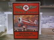1997 Ertl Wings Of Texaco 1930 Travel Air Model R Mystery Ship 5 In The Series