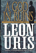 A God In Ruins By Leon Uris - First Print First Edition Hardcover In Dj - New