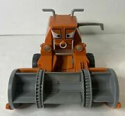 2015 Disney Pixar Cars Chase And Change Frank The Combine Tractor Mattel W/ Bin