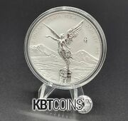 Libertad - Mexico - 2020 2 Oz Reverse Proof Silver Coin In Capsule - In Hand