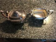George Iii Robert And Samuel Hennell Antique Sterling Teapot And Sugar Bowl