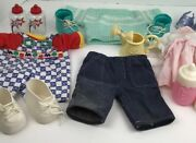 Cpk Cabbage Patch Kids Doll Clothes / Shoes Vintage And Modern And Accessories