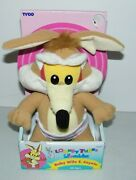 Warner Bros. Looney Tunes Lovables Vintage 1996 Baby Wile E Coyote Plush Doll